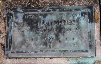Picture of Taruheru cemetery, block RSA, plot 615.