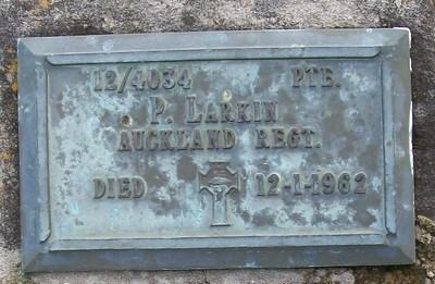 Picture of Taruheru cemetery, block RSA, plot 62.