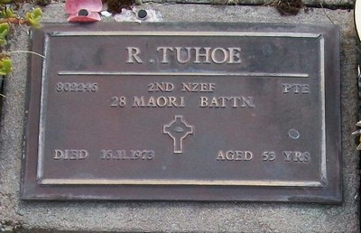 Picture of Taruheru cemetery, block RSA, plot 685.