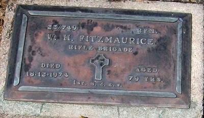 Picture of Taruheru cemetery, block RSA, plot 713.