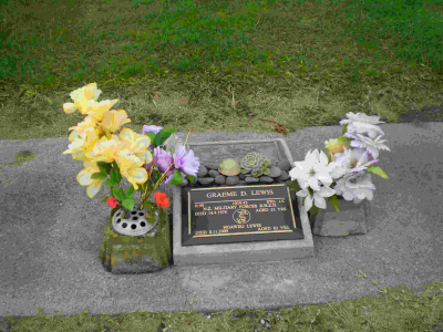 Picture of Taruheru cemetery, block RSA, plot 726.