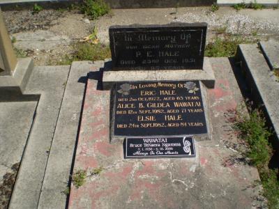 Picture of Taruheru cemetery, block R, plot 146.