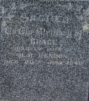 Picture of Taruheru cemetery, block R, plot 17.