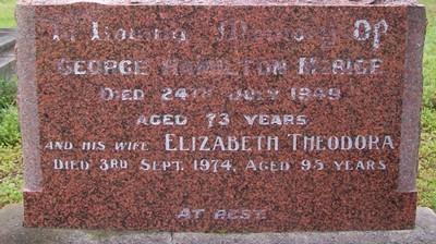 Picture of Taruheru cemetery, block R, plot 23.