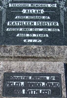 Picture of Taruheru cemetery, block R, plot 41B.