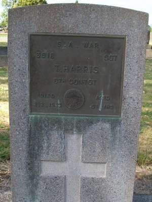 Picture of Taruheru cemetery, block SA, plot 3.
