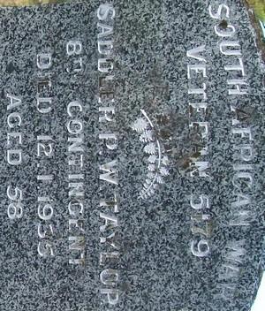 Picture of Taruheru cemetery, block SA, plot 7.