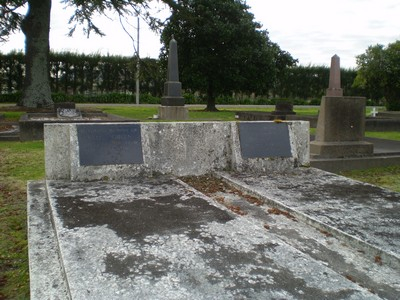Picture of Taruheru cemetery, block SEC1, plot 145.