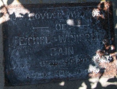 Picture of Taruheru cemetery, block SEC1, plot 151.