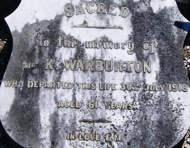 Picture of Taruheru cemetery, block SEC1, plot 174.