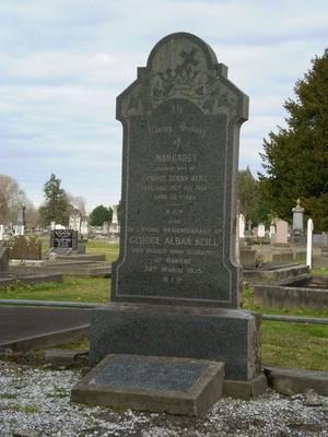 Picture of Taruheru cemetery, block SEC1, plot 19.