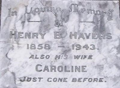 Picture of Taruheru cemetery, block SEC1, plot 210.