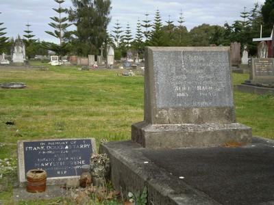 Picture of Taruheru cemetery, block SEC1, plot 229A.