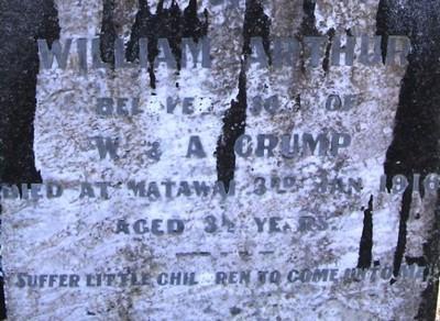 Picture of Taruheru cemetery, block SEC1, plot 257.