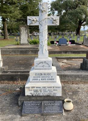 Picture of Taruheru cemetery, block SEC1, plot 381.