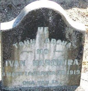 Picture of Taruheru cemetery, block SEC1, plot 394.