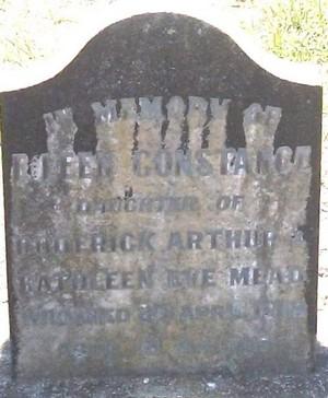 Picture of Taruheru cemetery, block SEC1, plot 407.
