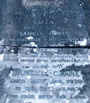 Picture of Taruheru cemetery, block SEC1, plot 41.