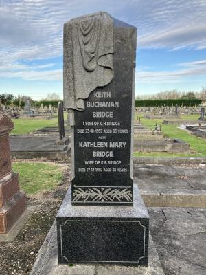 Picture of Taruheru cemetery, block SEC1, plot 447.