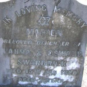 Picture of Taruheru cemetery, block SEC1, plot 475.