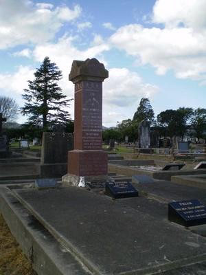 Picture of Taruheru cemetery, block SEC1, plot 481.