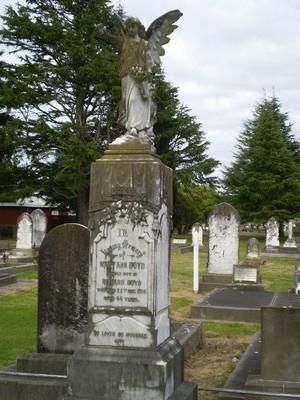 Picture of Taruheru cemetery, block SEC1, plot 78.