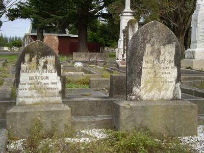 Picture of Taruheru cemetery, block SEC1, plot 86.