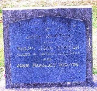 Picture of Taruheru cemetery, block SEC2, plot 539.