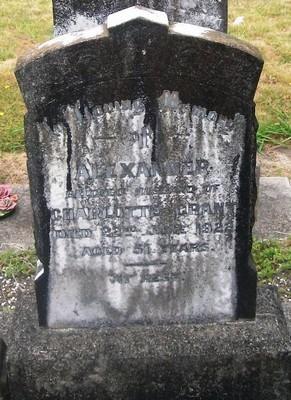 Picture of Taruheru cemetery, block SEC2, plot 546.
