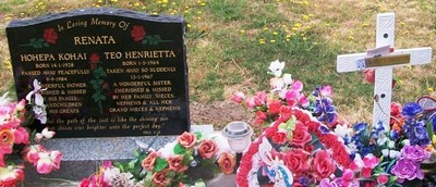 Picture of Taruheru cemetery, block SEC2, plot 550C.