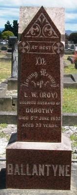 Picture of Taruheru cemetery, block SEC2, plot 563.