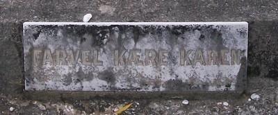 Picture of Taruheru cemetery, block SEC2, plot 593.