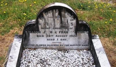 Picture of Taruheru cemetery, block SEC2, plot 596A.