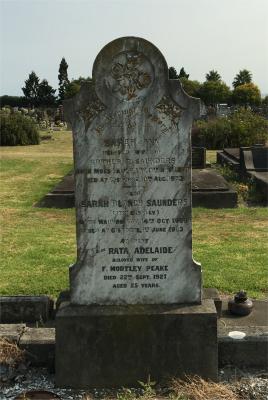 Picture of Taruheru cemetery, block SEC2, plot 627.