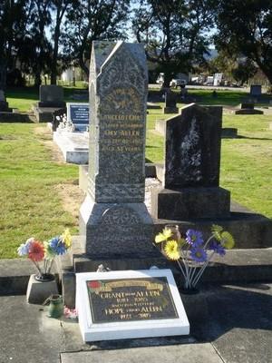 Picture of Taruheru cemetery, block SEC2, plot 685.