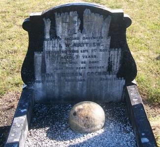 Picture of Taruheru cemetery, block SEC2, plot 723A.