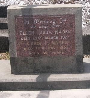 Picture of Taruheru cemetery, block SEC2, plot 735.
