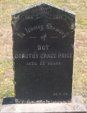 Picture of Taruheru cemetery, block SEC2, plot 776.