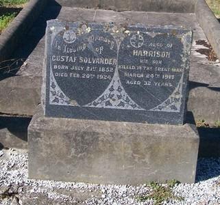 Picture of Taruheru cemetery, block SEC2, plot 780.