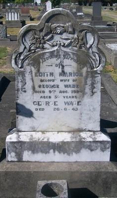 Picture of Taruheru cemetery, block SEC2, plot 791.