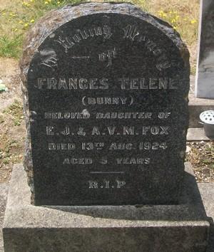 Picture of Taruheru cemetery, block SEC2, plot 807.