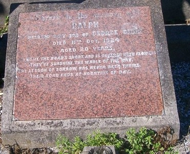 Picture of Taruheru cemetery, block SEC2, plot 818.
