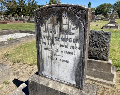 Picture of Taruheru cemetery, block SEC2, plot 858.
