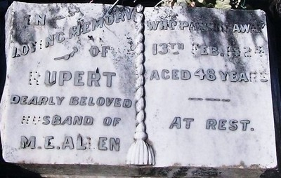 Picture of Taruheru cemetery, block SEC2, plot 862.