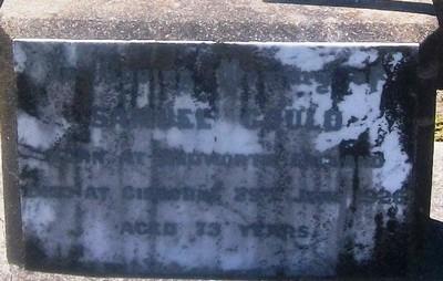 Picture of Taruheru cemetery, block SEC3, plot 1017.