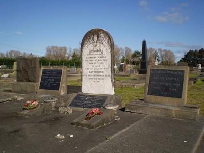 Picture of Taruheru cemetery, block SEC3, plot 1052.