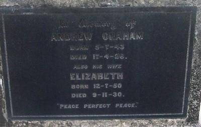 Picture of Taruheru cemetery, block SEC3, plot 1063.