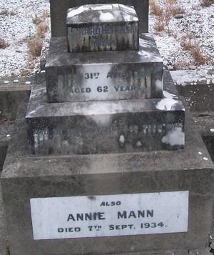 Picture of Taruheru cemetery, block SEC3, plot 1095.
