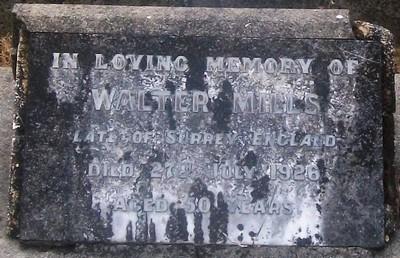 Picture of Taruheru cemetery, block SEC3, plot 1126.