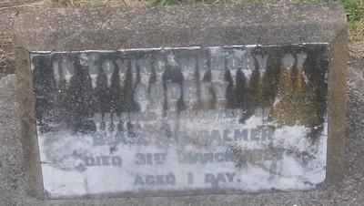 Picture of Taruheru cemetery, block SEC3, plot 1145.